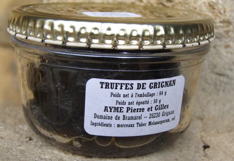 Truffe noire fra che et en conserve en direct du domaine de bramarel ayme truffe boutique - Comment cuisiner les truffes noires ...